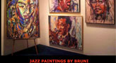 Bruni Jazz Paintings
