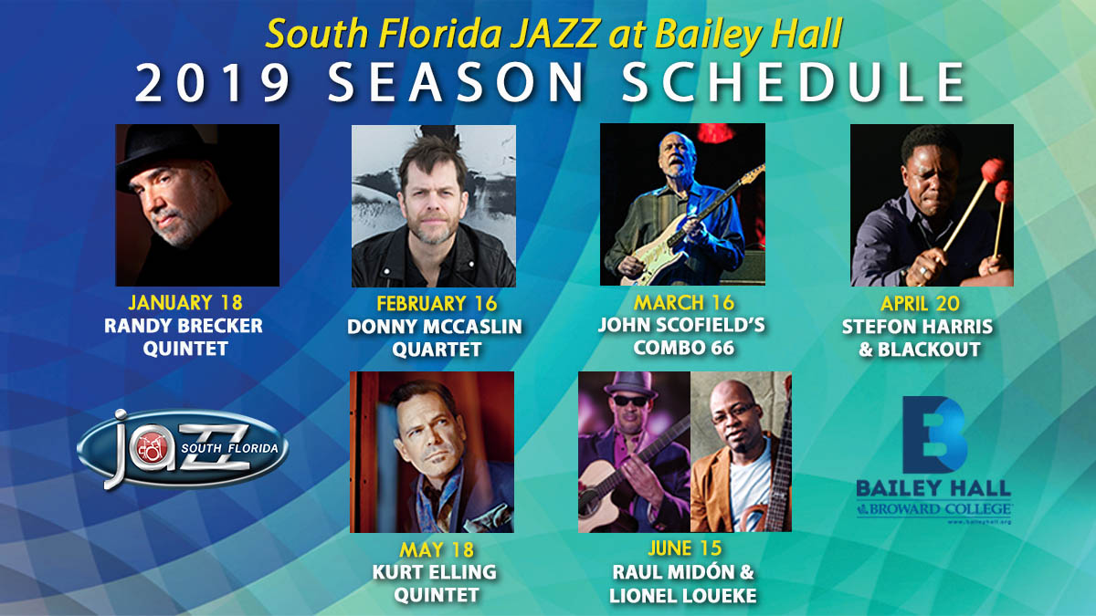 South Florida JAZZ at Bailey Hall