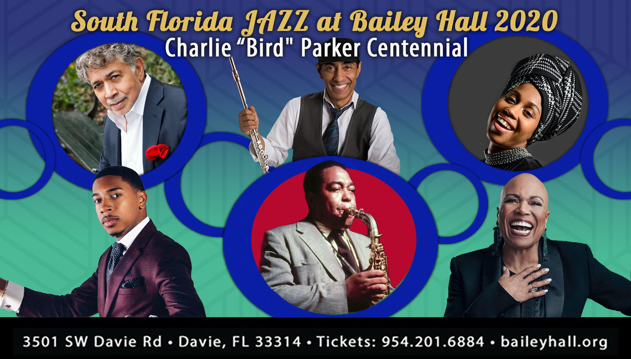 South Florida JAZZ at Bailey Hall – 2020 Season